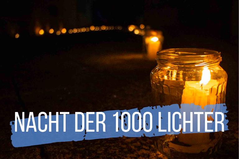 Einladung zur Nacht der 1000 Lichter