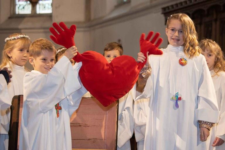 Fest der Erstkommunion