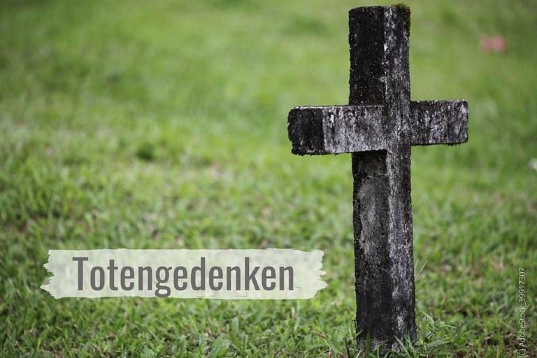 Info zum Totengedenken und Gebet für den Besuch der Gräber