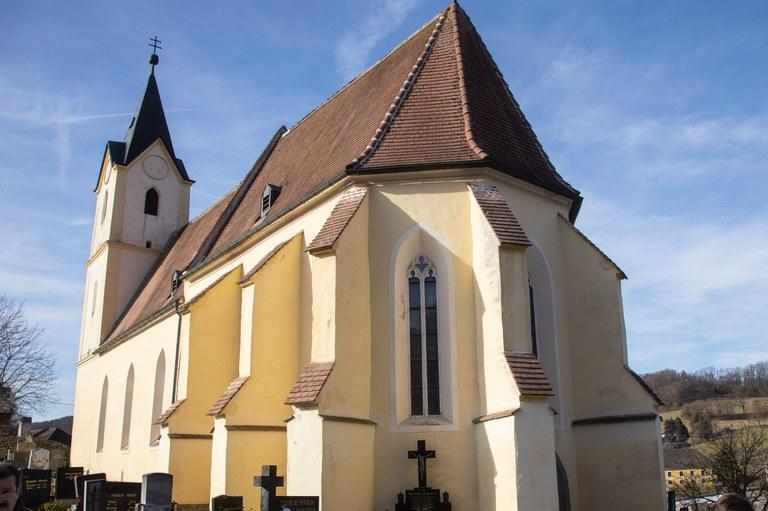 Liturgische Neugestaltung Kirche Zelking