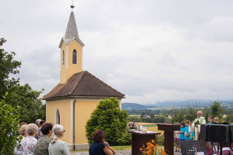Sonntagsgottesdienst in Winden
